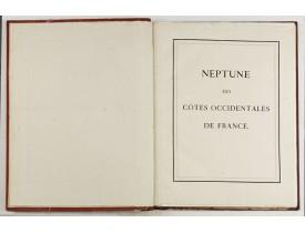 DÉPÔT DES CARTES ET PLANS DE LA MARINE. -  Neptune des Côtes Occidentales de France.