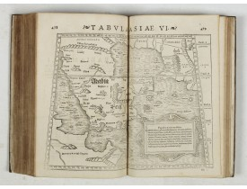 STRABO. -  Strabonis nobilissimi et doctissimi philosophi ac geographi Rervm geographicarum commentarij libris XVII contenti, Latini facti Gvilielmo Xylandro Augustano interprete. . .