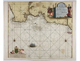 Auction of maps of Bretagne
