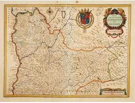 JANSSONIUS, J. -  Nova et accurata Descriptio Delphinatus vulgo Dauphine.