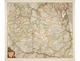 WIT, F. de -  Tabula Ducatus Brabantiae.