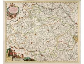 VISSCHER , N. -  Ducatus Lutzenburgi Novissima et Accuratissima Delineatio.