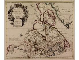 COVENS, J.  / MORTIER, C. -  Carte du Canada ou de la Nouvelle France.