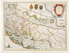 BLAEU, W. -  Sclavonia, Croatia cum Dalmatiae Parte.
