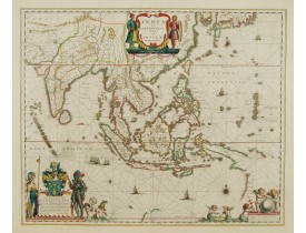 BLAEU, W. -  India quae Orientalis.