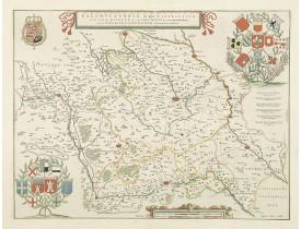 BLAEU, W. -  Galloflandria, in qua Castellaniae Lilana. . .