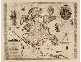 HONDIUS, H. -  Nova famigerabilis insulae ac ducatus Rugiae descriptio.