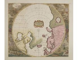 WIT, F. de -  Poli Arctici et circumia centium terrarum descriptio..