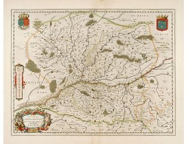 BLAEU, W. -  Ducatus Andegavensis.. Aniou.