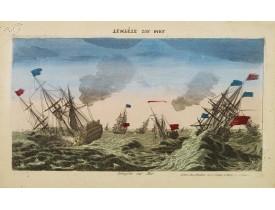 MONDHARE, L. J. -  Tempête sur Mer.