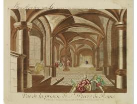 CHÉREAU, J. -  Vue de la prison de St.Pierre de Rome.