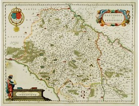 BLAEU, W. -  Gastinois et Senonois.