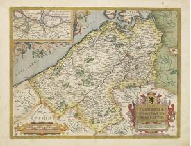 ORTELIUS, A. -  Flandriae comitatus descriptio.