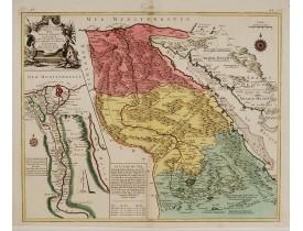 LOTTER, T. C. -  Le cours entier du grand et Fameux Nil.