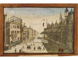 ANONYME. -  Place de l'Eglise de St.Marc et la grande Place terminee..