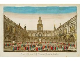 DAUMONT. -  Vue Interieure de la Bourse Royale à Londres.