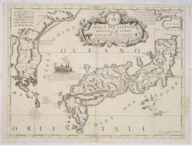 CORONELLI, V. M. -  Isola del Giapone e penisola di Corea.