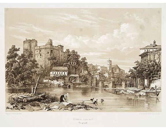 BENOIST, F. -  Clisson, (Loire-Inf.) Vue générale.