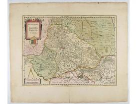 JANSSONIUS, J. -  Beauvaisis. Comitatus BELOVACIUM.