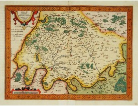 ORTELIUS, A. -  L'Isle de France. Parisiensis agri descrip.