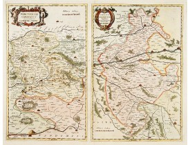 HONDIUS, H. -  Perchensis comitatus-La Perche comte./ Comitatus Blesensis