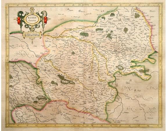 MERCATOR, G. / HONDIUS, J. -  Berry ducatus.
