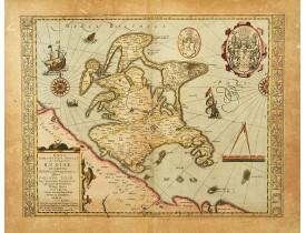 MERCATOR, G. / HONDIUS, J. -  Nova famigerabilis insulae ac ducatus Rugiae descriptio.