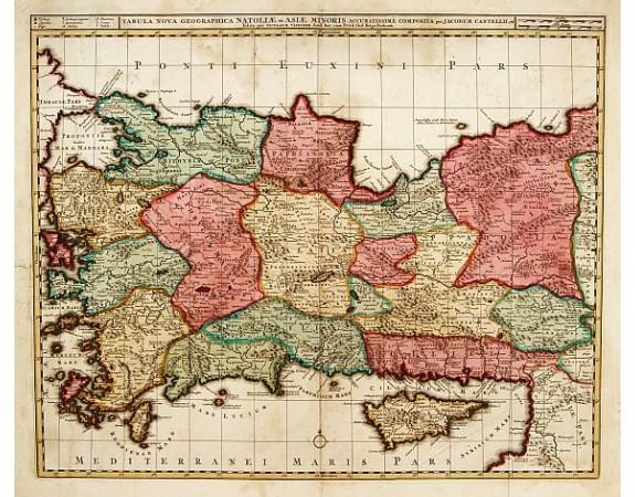 VISSCHER, N. -  Tabula nova geographica Natoliae et Asiae minoris..