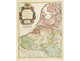 DU VAL, P. -  Les Provinces des Pays Bas.