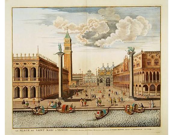 BLAEU, J. / MORTIER, P. -  La Place de Saint Marc a Venise.