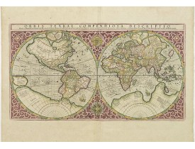 MERCATOR, G. -  Orbis Terrae Compendiosa Descriptio.