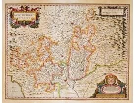 BLAEU, W. -  Montisferrati Ducatus.