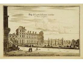 MERIAN, M. -  Prosp: de la partie du Louvre. wie Solcher…
