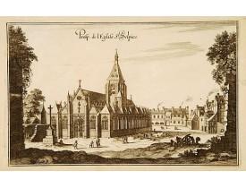MERIAN, M. -  Prosp. De l'Eglise St Sulpice…