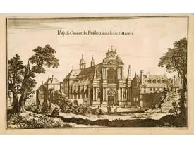MERIAN, M. -  Prosp: du Convent des Feuillans dans la rue St. Honoré…