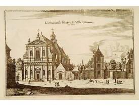 MERIAN, M. -  Le Noviciat des Iesuites à la Ville S. Germain des Prez.