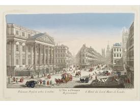 DAUMONT. -  39e Vüe d'Optique Representant L'Hotel du Lord Maire de Londres.