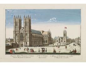 DAUMONT. -  26e Vüe d'Optique Representant L'Abbaye de Westminster et de l'Eglise Ste. Marguerite à Londres.