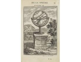MALLET, A.M. -  De la Sphère. Figure IX.