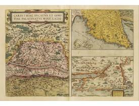 ORTELIUS, A. -  Carinthiae et Goritiae .. / Histria / Zarae / Serebenici ..