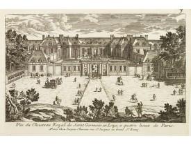 CHÉREAU, J. -  Vüe du Chasteau Royal de Saint Germain en Laye, a quatre lieux de Paris..