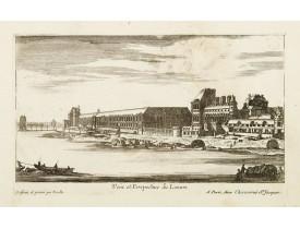 CHÉREAU, J. -  Veüe et Perspective du Louvre. . .