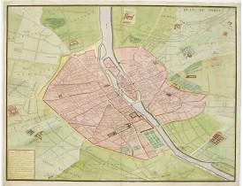 BRETEZ, Louis / TURGOT. -  Plan de Paris.