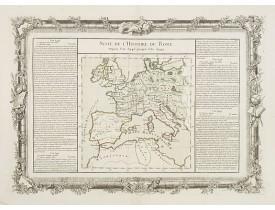 DESNOS, L. C. / BUY DE MORNAS, C. -  Suite de L'Histoire de Rome Depuis l'An 3946 jusqu'à 3949.