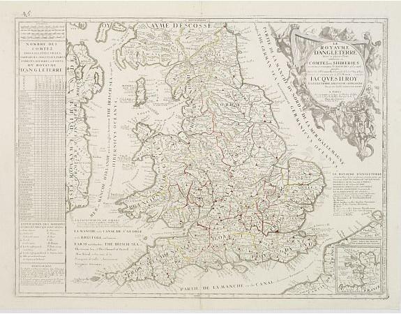 NOLIN, J. B. / CORONELLI, P. - Le Royaume d'Angleterre.
