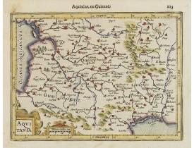 MERCATOR, G. / HONDIUS, J. -  Aquitania.