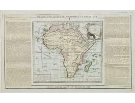 DESNOS, L. C. / BRION de la Tour, L. -  L' Afrique Dressée pour l' étude de la Géographie..