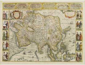 JANSSONIUS, J. -  Asia recens summa cura delineata.