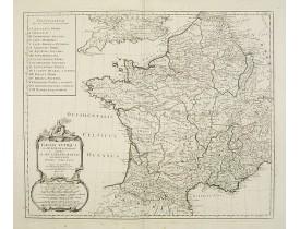 SANTINI, P. / REMONDINI, M. -  Gallia Antiqua ex Aevi Romani monumentis eruta..