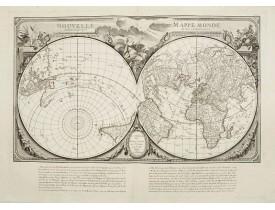 SANTINI, P. / REMONDINI, M. -  Nouvelle Mappe Monde.